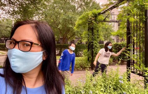 Many students are using their time in quarantine to become closer with her family