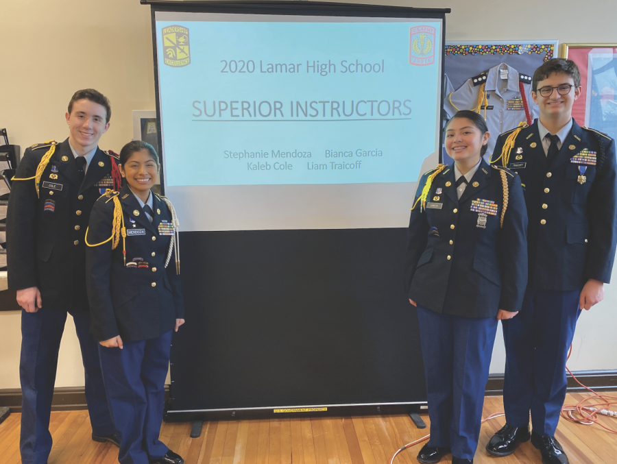 JROTC passes inspection, keeping their four for four streak intact