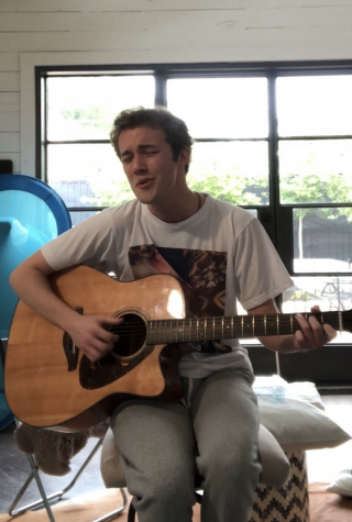Senior Will Derden is using his time in quarantine to work on his music