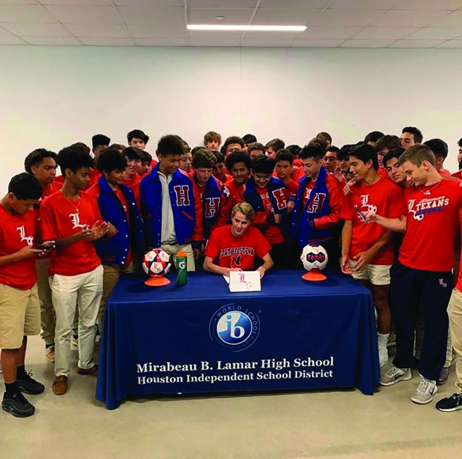 Burke's future looks bright with soccer scholarship