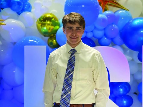 Thomas Schultz was named valedictorian, with the highest GPA of the class